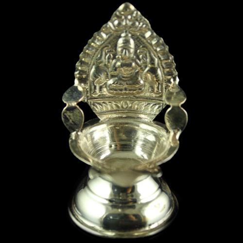 Silver Lakshmi Lamp