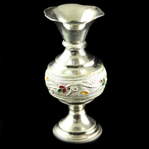 Silver Flower Vash