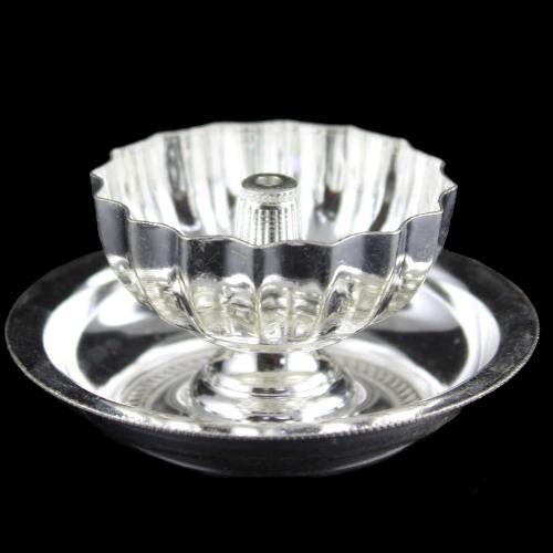 Silver Fancy Lamp