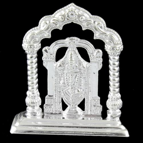 Silver Pooja Idols Lord Balaji