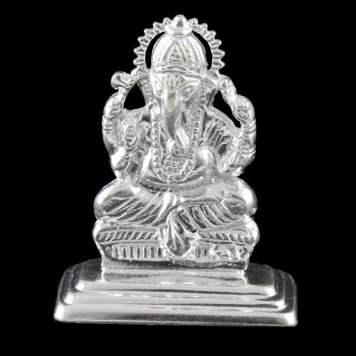 Silver Lord Ganapathy Idols