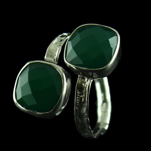 Malachite Stone Ring