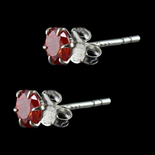 Zitcon Stone Stud Earrings For Women