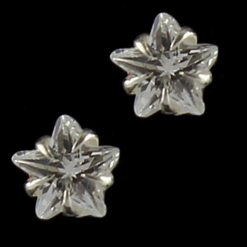 Zircon Stone Stud Earrings For Women