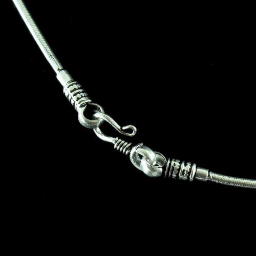Silver Fancy Plain Chain