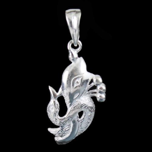 Silver God Danesha Pendant