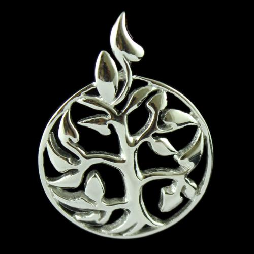 Silver Fancy Design Pendant