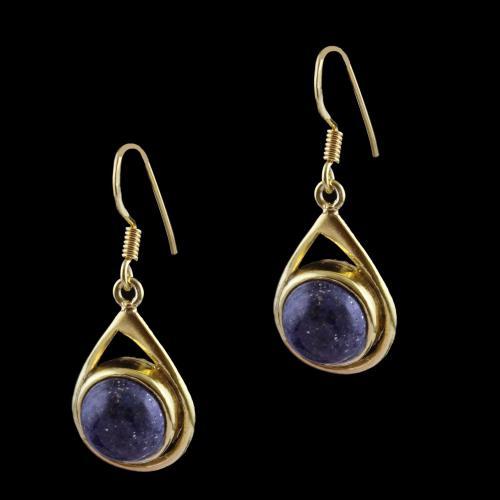 Lapis Lazuli Hanging Earring