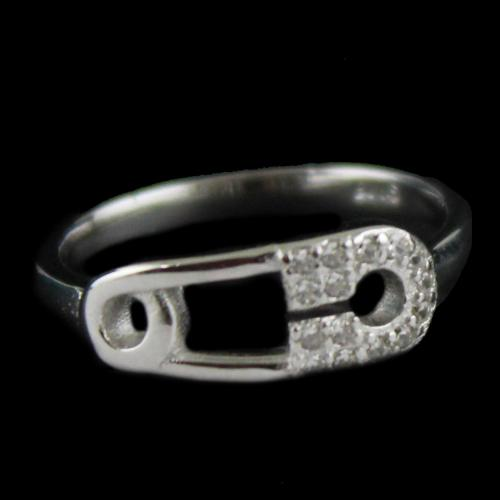 Silver Casual Ring
