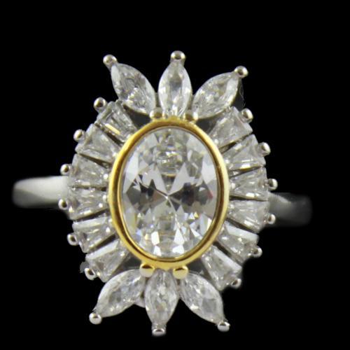 Zircon Stone Bridal Ring