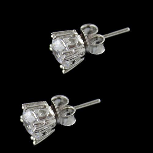 Swarovski Partywear Silver Earring