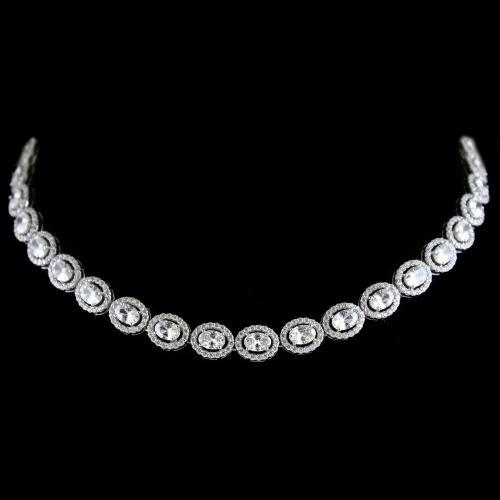 Swarovski Oval Partywear Necklace