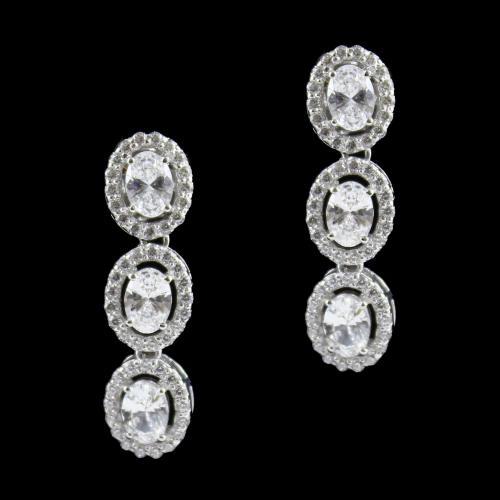 Swarovski Oval Partywear Earring