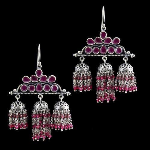Onyx Jhumka Earring