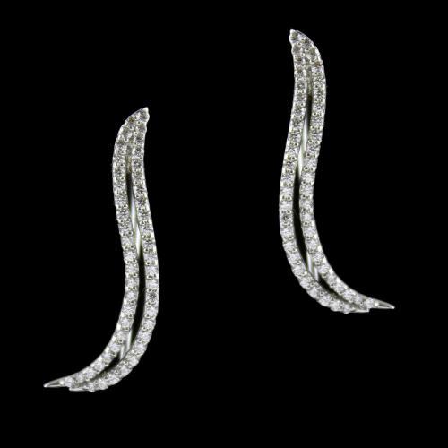 Swarovski Hanging Earrings