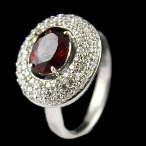 Zircon Stone Party Wear Ring