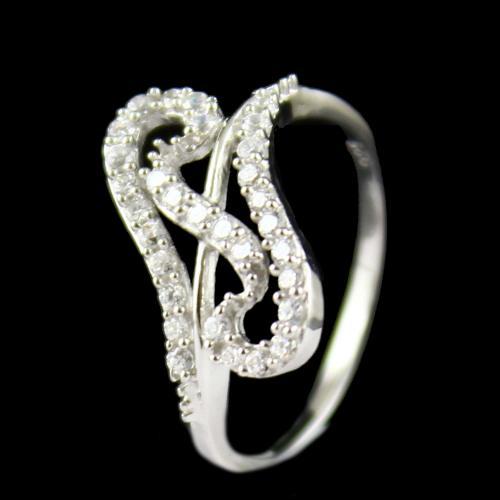 Zircon Stone Casual Wear Rings