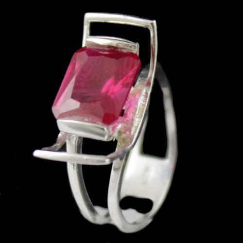 Zircon Stone Party Wear Ring