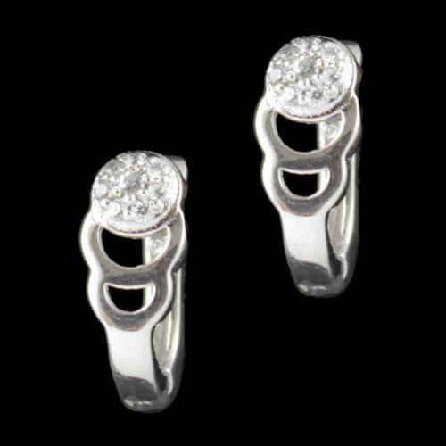 Zircon Stone Bali Earring