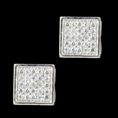 Zircon Stone Casual Wear Tops Earring