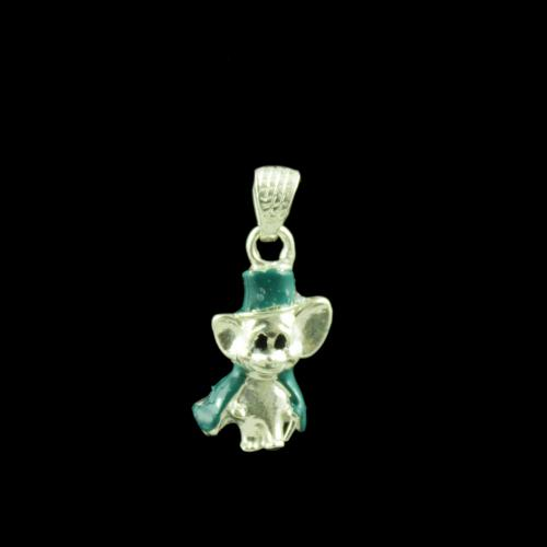 Micky Mouse Casual Wear Silver Baby Pendant