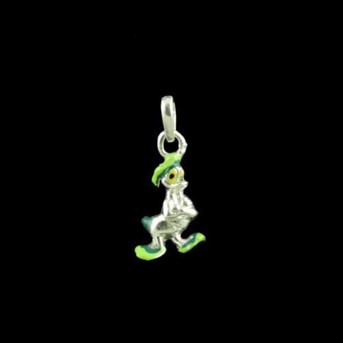 Duck Casual Wear Silver Baby Pendant
