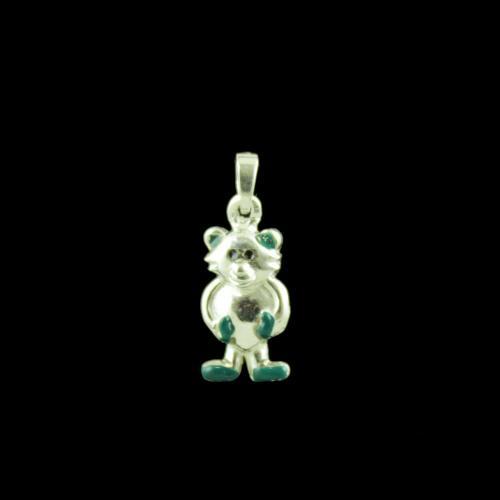 Bear Casual Wear Silver Baby Pendant
