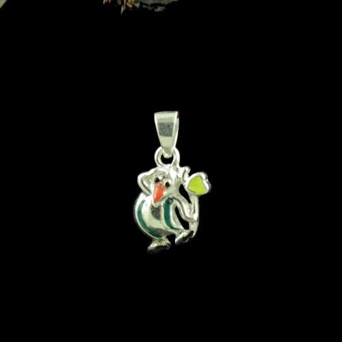 Penquin Casual Wear Silver Baby Pendant