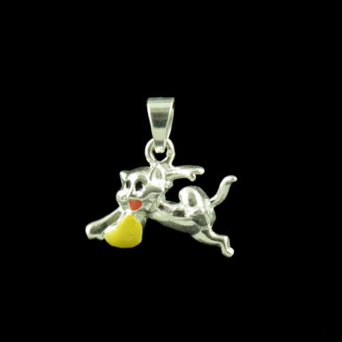 Tom Casual Wear Silver Baby Pendant
