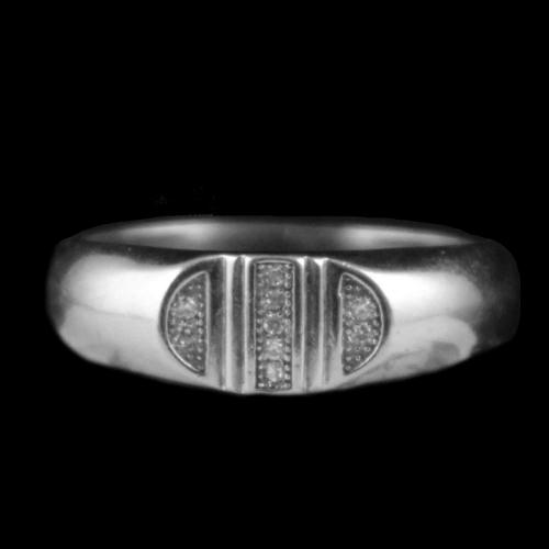 Sterling Silver Traditional Rings With CZ Stones