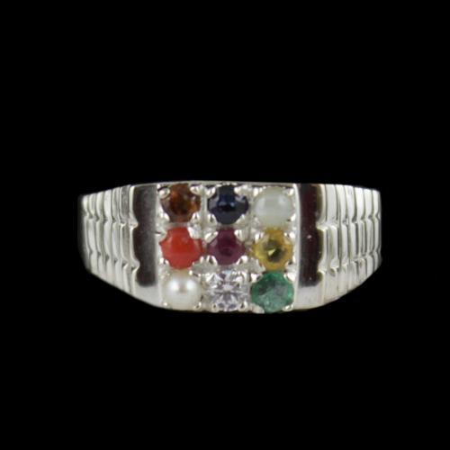 Casual Wear Navarathna Ring