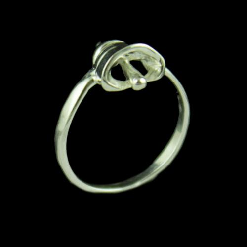 Silver Baby Bell Ring