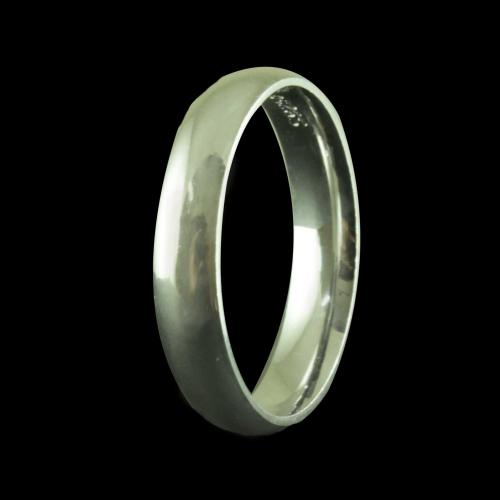 SILVER PLAIN BAND RINGS