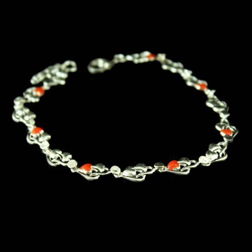 Fancy Bracelet Studded Zircon Stones