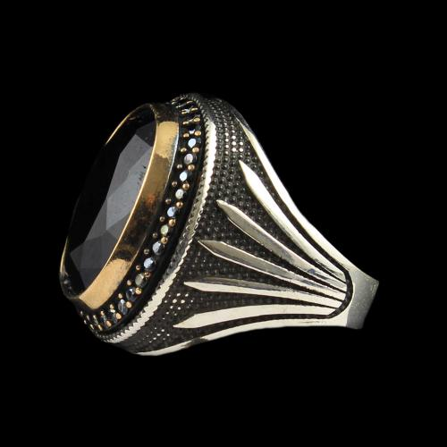 OXIDIZE SAPPHIRE RING
