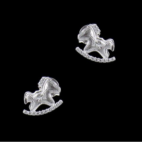 BABY HORSE EARRINGS