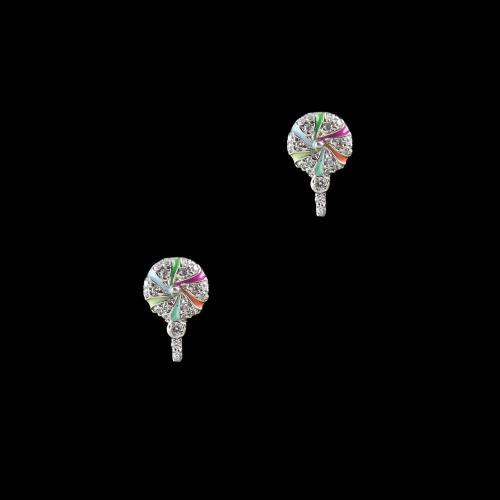 STERLING SILVER CANDY EARRINGS