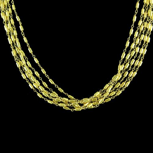 TUBE AATI FANCY BUNCH  NECKLACES