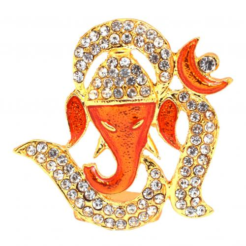 OM GANESHA WITH BASE