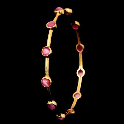 GOLD PLATED MONALISA BANGLES