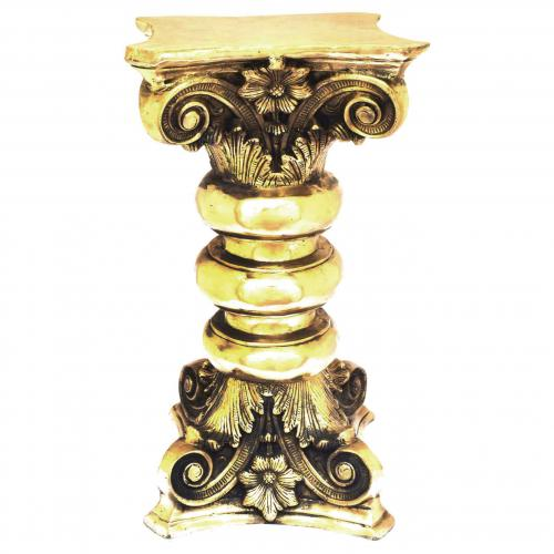 BRASS STOOL WITH 3 RING