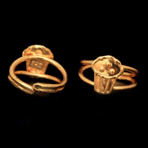 GOLD PLATED TOE RINGS