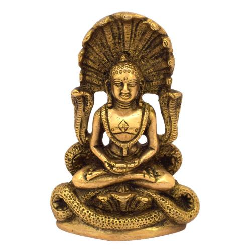 BRASS BUDDHA SITTING