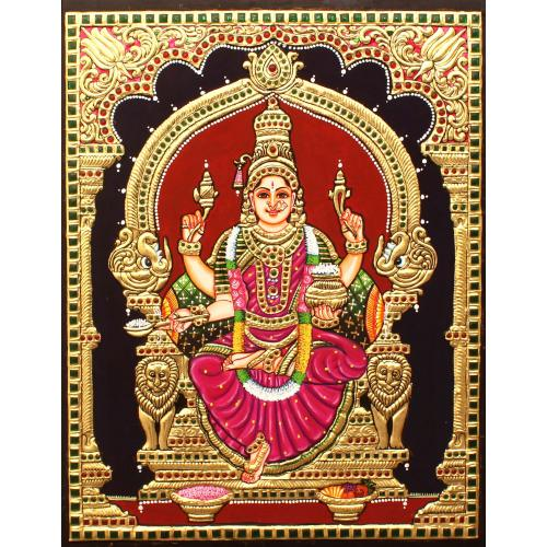 TANJORE PAINTING ANNAPOORNE