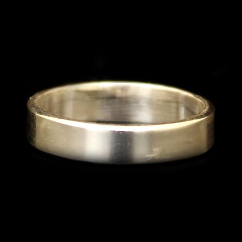 STERLING SILVER MENS BAND RING