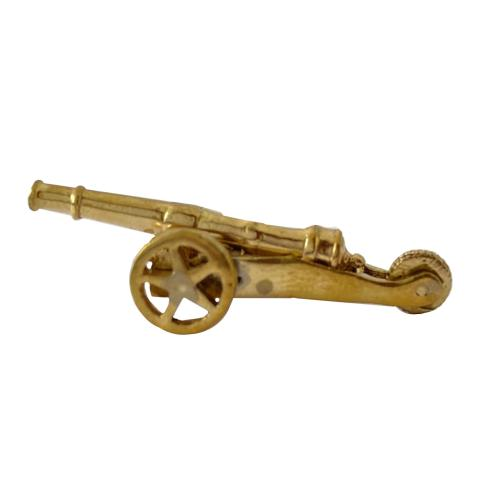 Ancient Canon Brass Miniature Toy