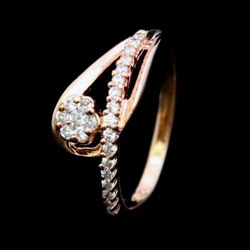 ROSE GOLD PLATED CZ RINGS