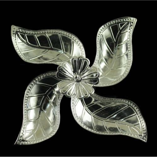 Silver Fancy Design Lamp