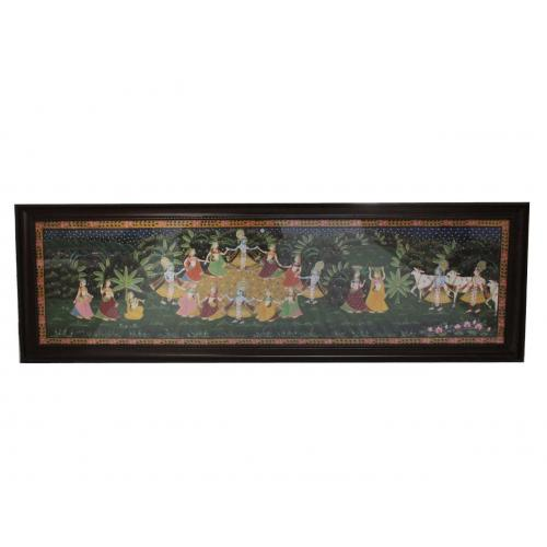 KRISHNA WITH COE CANVAS PAINTINGS
