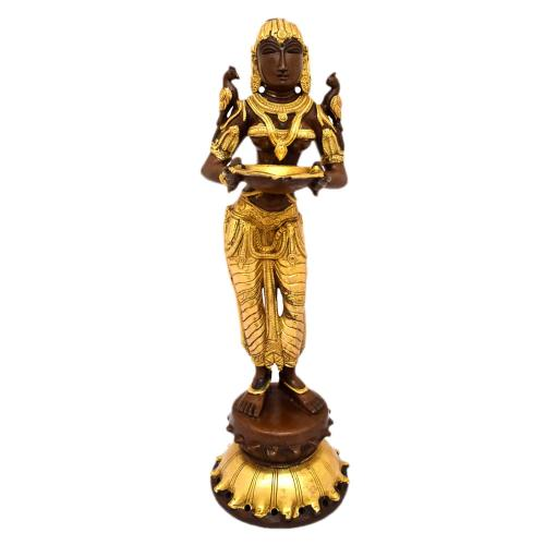 DEEPALAKSHMI STANDING WITH ROUND BASE